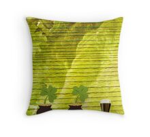 An Irish Blessing For St Patrick's Day Throw Pillow