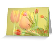 Tulip Time Easter Card Greeting Card