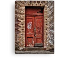 Langsyne Door Canvas Print