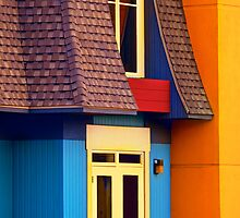 Primary colours - 2 by Elisabeth van Eyken