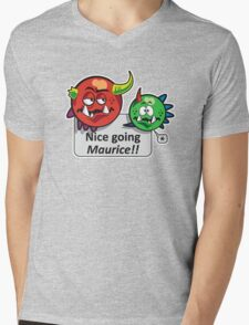 Monsters Mens V-Neck T-Shirt