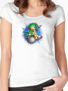 Sonic Boom: Bean the Dynamite Women's Fitted Scoop T-Shirt