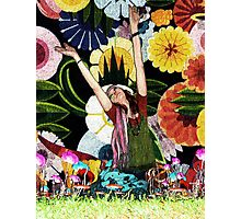 Flower Child or The Age of Aquarius  Photographic Print