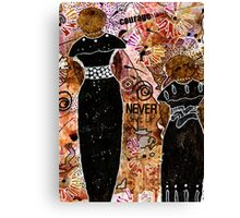 Standing Steadfast in LOVE and Kindness Canvas Print