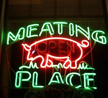 The Meating Place, Ringwood Avenue, Haskell, NJ by Jane Neill-Hancock