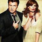 Castle & Beckett by whatthefawkes