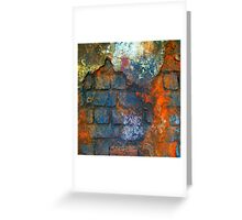 Brick Texture 2 Greeting Card