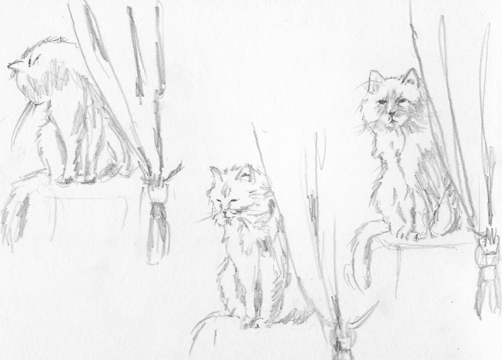 Sketches of Fleur by MoniqueGeurts