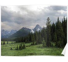 Storm Over Lougheed Poster