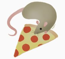 NYC Rats ❤︎ Pizza Kids Tee