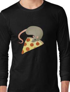 NYC Rats ❤︎ Pizza Long Sleeve T-Shirt