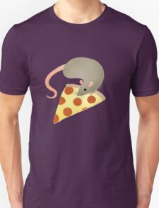 NYC Rats ❤︎ Pizza Unisex T-Shirt