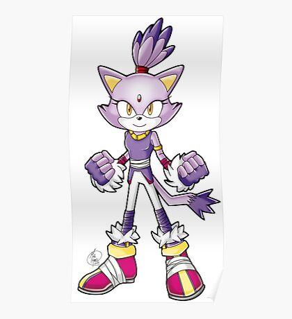 Sonic Boom: Blaze the Cat Poster
