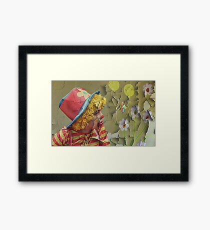 Look on the bright side..... Framed Print