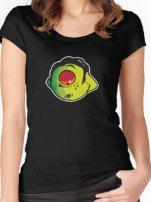 Looking Down Women's Fitted Scoop T-Shirt
