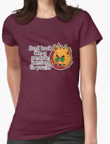 Happy Chappy Womens Fitted T-Shirt