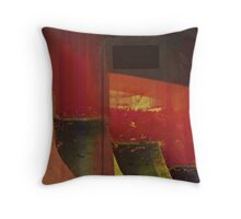 Stairs Abstract Throw Pillow