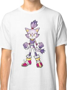 Sonic Boom: Blaze the Cat Classic T-Shirt