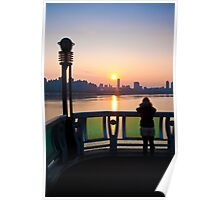 Seoul Belle at sunset Poster