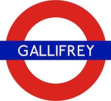 Doctor Who Gallifrey Tube Symbol by ThetaSigma12