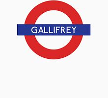 Doctor Who Gallifrey Tube Symbol Unisex T-Shirt