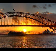 Sydney Harbor Bridge by BrettSimpson