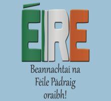 Beannachtaí na Féile Pádraig oraibh - Blessings of St. Patrick upon you. by stuwdamdorp