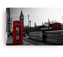 London Icons Canvas Print