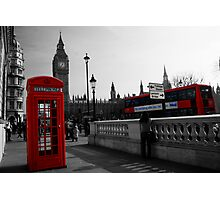 London Icons Photographic Print