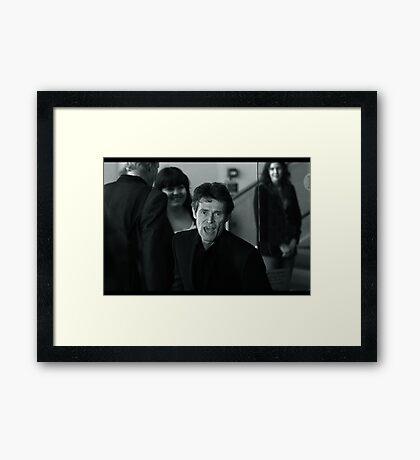 Willem Dafoe Framed Print