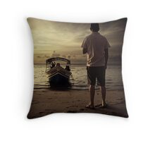 Last Launch #0101 Throw Pillow