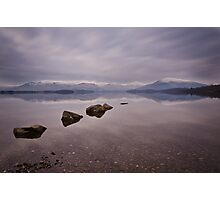 Milarrochy Rocks Photographic Print