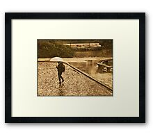 perfect protection Framed Print