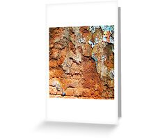 Brick Texture 5 Greeting Card