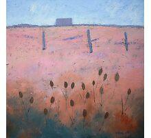 Acrylic on canvas Coastal painting, Rye Photographic Print