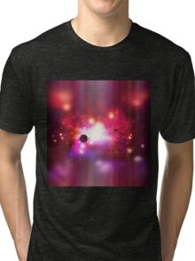 Burning space Tri-blend T-Shirt