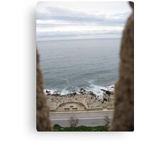 Turret Sea View Canvas Print