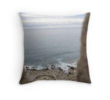 Turret Sea View Throw Pillow