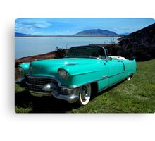 1954 Cadillac Convertible Canvas Print