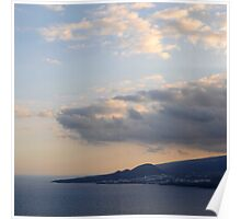 Cloudy scenery from the Canary Islands - 04 Poster