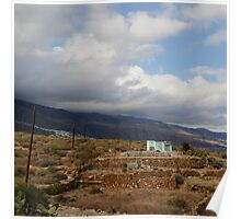Cloudy scenery from the Canary Islands - 08 Poster