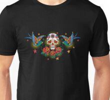 Tattoo Skull Day of the Dead Unisex T-Shirt
