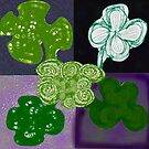 Quartet of Clovers by KazM