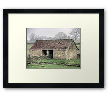Cotswold Barn  Framed Print