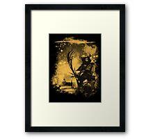 samourai bot Framed Print