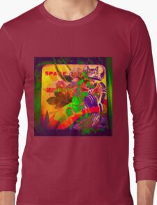 9427 Space Cat Long Sleeve T-Shirt