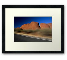 Blink and You'll Miss It! Framed Print