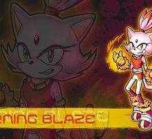 Blaze the Cat: Burning Blaze by Havocgirl