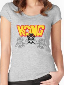 KONG! Women's Fitted Scoop T-Shirt