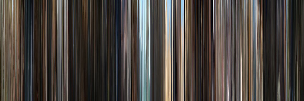 Moviebarcode: The Adventures of Tintin (2011) by moviebarcode